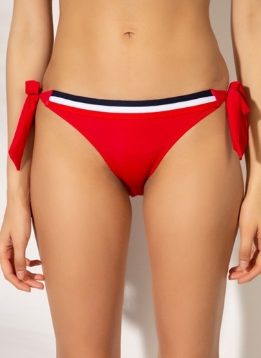 T-Box Bikini Alt Kırmızı